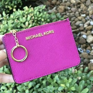 Michael Kors Coin ID Wallet with Key Chain Holder